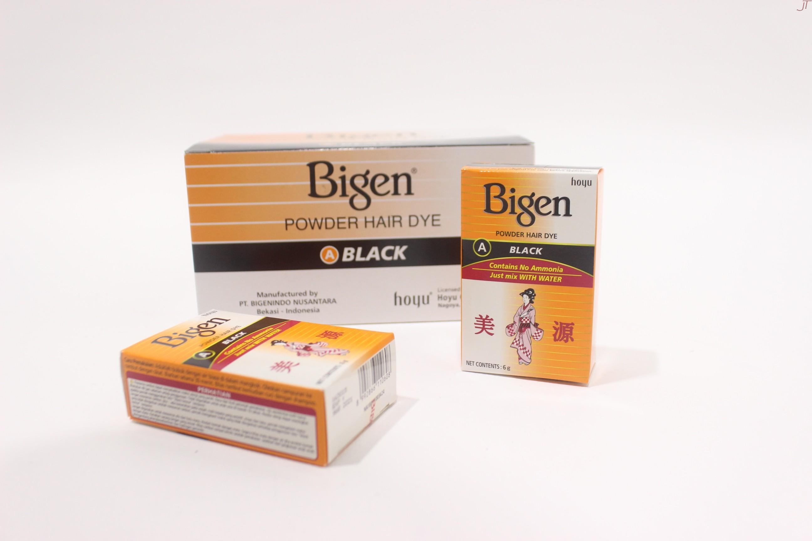 Semir Rambut Bigen Powder 6 Gram Jawatimuronline Hi Top
